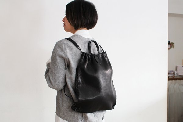 irose/イロセ net knap/tote BAG-N05(ブラック)