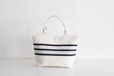 TANEI/タネイ sasicco ライントートS(キナリ)刺し子織り