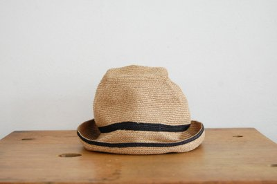 mature ha. / マチュアーハ BOX HAT MBOX-104SW(mix brown×black 7cm)