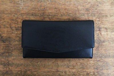 【受注生産品 納期2ヶ月】hirari / 平山篤  WALLET(BLACK)長財布