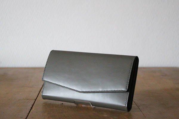 【受注生産品 納期2ヶ月】hirari / 平山篤  WALLET(GRAY)長財布