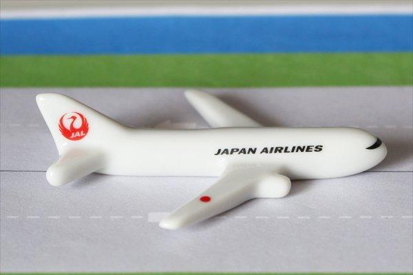 【新商品】飛行機箸置き(日本航空/JAL767)
