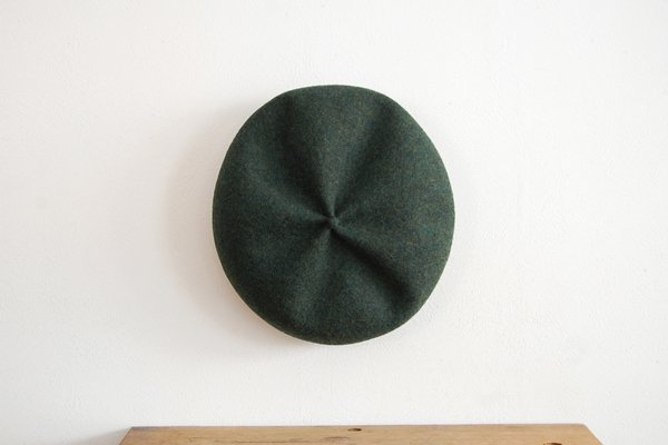 mature ha/マチュアーハ beret top gather big MKF-2001(green)