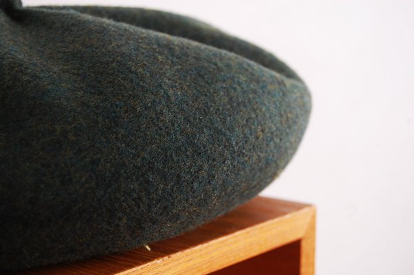 mature ha/マチュアーハ back stitch wool free hat MFEL-1101