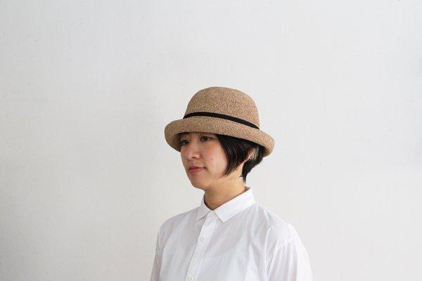 mature ha. / マチュアーハ BOXED HAT MBOX-101SW(mix brown×black 11cm)