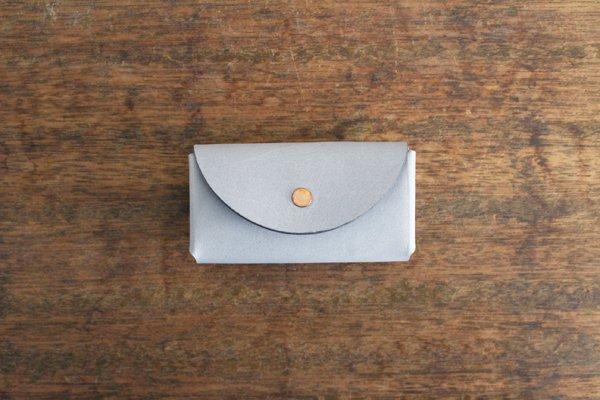 【受注生産品 納期2ヶ月】hirari / 平山篤 Coin Purse(LIGHT GRAY)小さなお財布