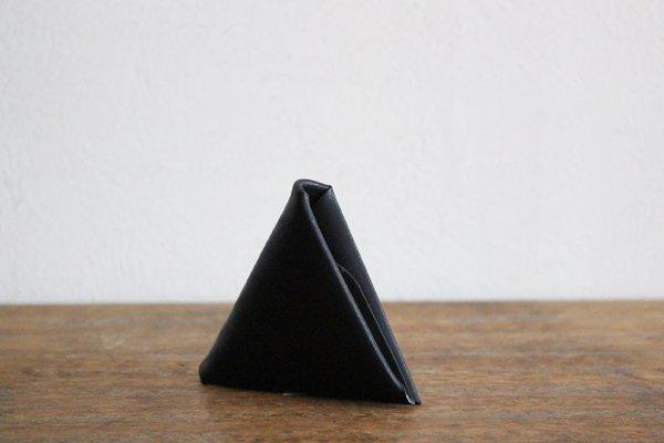 【受注生産品 納期2ヶ月】hirari 平山篤 COIN CASE 小銭入れ(BLACK)