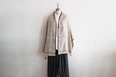 Suno&Morrison/スノ アンド モリソン ガラ紡 ミディアム ストール 50×190cm(Gray)