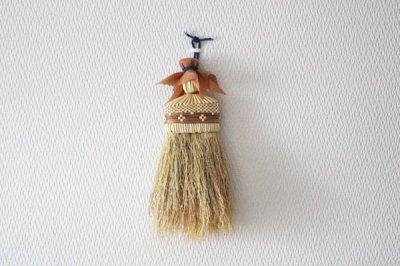 【再入荷】高倉工芸 南部箒 和洋服ブルーム 【縮れ ★★★】(茶)