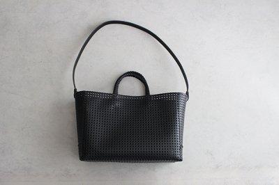 irose/イロセ KAGO TOTE BAG BAG-K01 ブラック