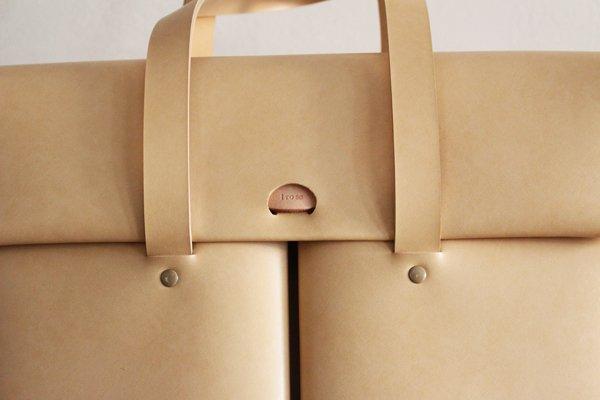 irose/イロセ SEAMLESS DOCUMENT BAG BAG-SL15 (ヌード)