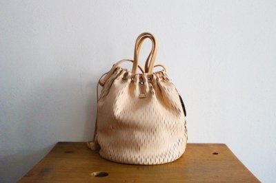 irose イロセ net bucket bag BAG-N03(ヌード)