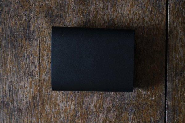 【受注生産品 納期2ヶ月】hirari / 平山篤 MINI WALLET (BLACK)