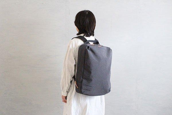 NIZYU KANO FUKUISHIWA NYLON series リュックL(グレー)