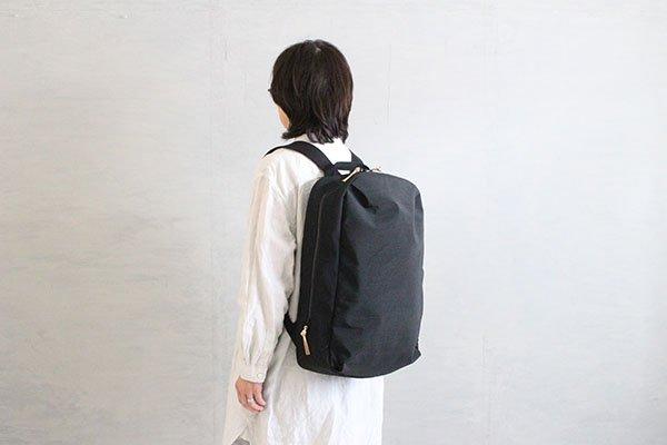 NIZYU KANO FUKUISHIWA NYLON series リュックL(ブラック)
