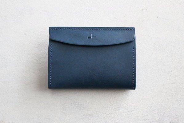 【新入荷】M+/エムピウ FERMA CARD CASE/名刺入れ (ブルー)