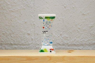 【予約販売スタート!】プレイタイマー 約3分 オイル時計 「山田さん家のモーモー牧場のプレイタイマー」1月末のお届け