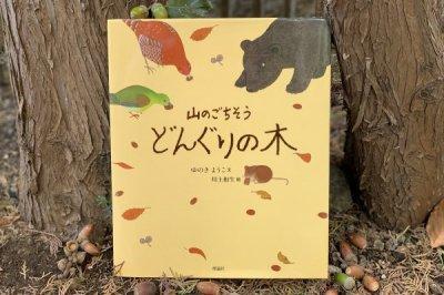 山のごちそう どんぐりの木 ゆきの ようこ/文 川上和生/絵 (理論社)
