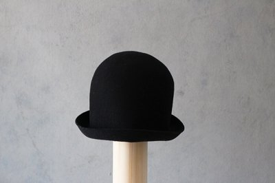 mature ha/マチュアーハ back stitch wool free hat MFEL-1101(black)