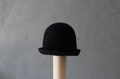 mature ha/マチュアーハ back stitch wool free hat MFEL-1101(navy)