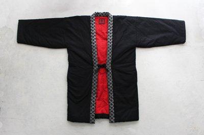 【新入荷】宮田織物 はんてん 半纏 [狐火袢天] 男女兼用