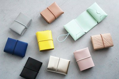 【NEW】irose/イロセ SEAMLESS COMPACT WALLET コンパクトウォレット(9 colors)