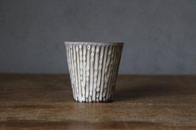 シモヤユミコ     ビアタンブラー 陶器 (81)