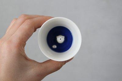 楽土 / 多田せいぞう シロクマの熊五郎 お猪口3号 (87)