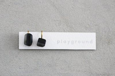playground イヤリング (black) -03-