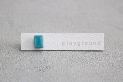 playground ピアス (blue) -06-