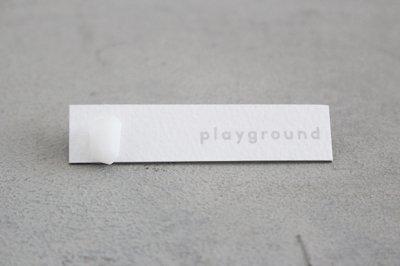 playground ピアス (white) -07-