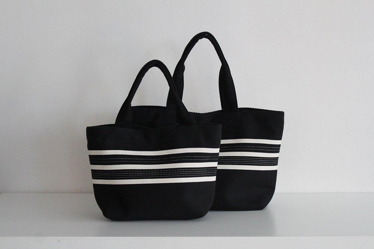 TANEI/タネイ  柔道着バッグ  ライントートS(ブラック)