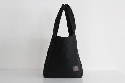 TANEI/タネイ 刺し子織り トートバッグ40(ブラック)