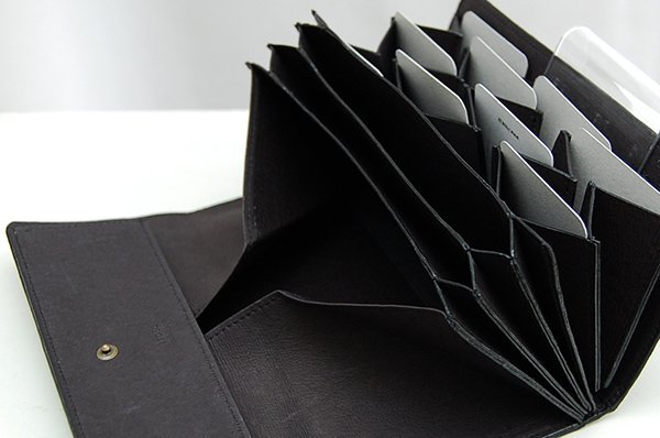irose/イロセ paper long wallet ACC-P15(ブラック)