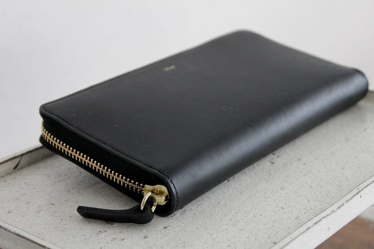 iroseイロセ POP-UP LONG WALLET ACC-PU03(ブラック)