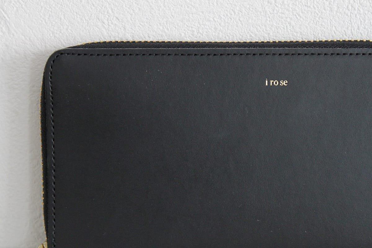 "iroseイロセ pop-up long wallet ACC-PU03(ブラック)"" width="