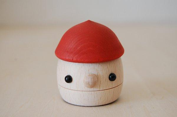 おもちゃのこまーむ どんぐりころころ(赤)