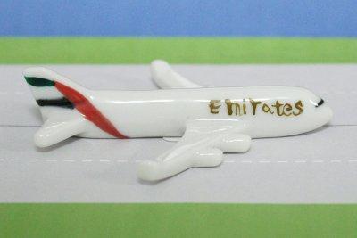 飛行機箸置き  (エミレーツ航空EK A380)