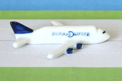 飛行機箸置き  (ドリームリフター B747-400LCF)