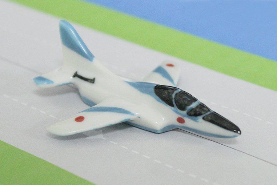 飛行機箸置き  (ブルーインパルス T-4)