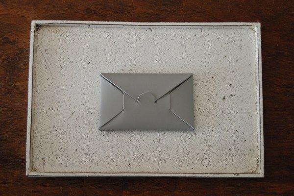 irose/イロセ SEAMLESS CARD CASE ACC-SL01(グレー)