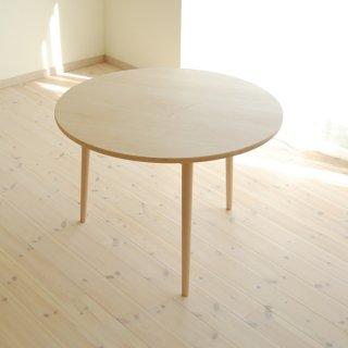 直径110cm、丸ダイニングテーブル3本脚(早割5%オフ適用)