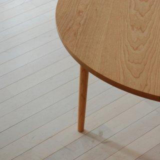 直径110cm、丸ダイニングテーブル4本脚(早割適用なし)