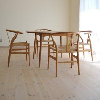直径120cm、丸ダイニングテーブル4本脚(早割適用なし)