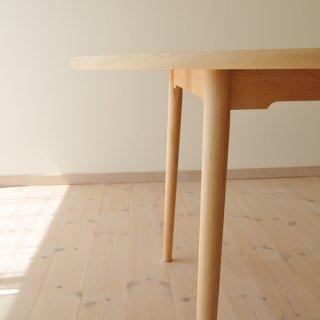 直径130cm、丸ダイニングテーブル4本脚(早割10%オフ適用)
