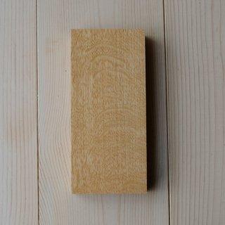 木のサンプル(ウッドブロック25)(木の種類:ナラ虎斑)