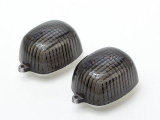 ウインカーレンズ スモーク 2個SET バリオス/エストレア/W400/W650