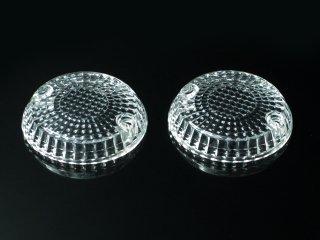 ウインカーレンズ クリア 2個SET ゼファー400/ゼファーχ/ゼファー750/ゼファー1100/ZRX2