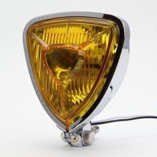 トライアングル ヘッドライト 薄型タイプ イエローレンズ仕様
