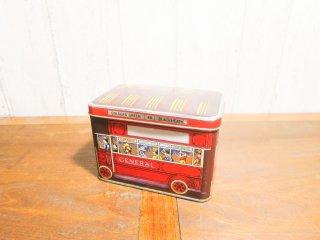 ビンテージ  バスモチーフ TIN缶